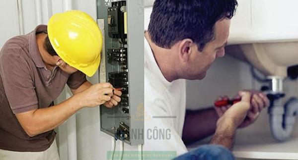 Dịch vụ sửa chữa điện nước tại nhà ở TP.Vinh