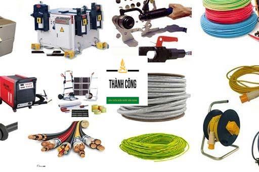 Thiết bị, vật tư chất lượng cao được nhập từ các công ty uy tín nhất