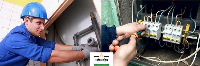 sửa chữa điện nước tại huyện Anh Sơn