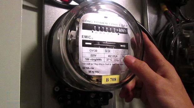 Nguyên lý hoạt động của đồng hồ điện 1 pha