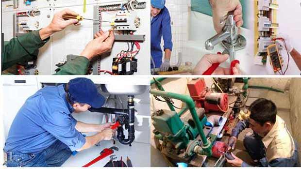 Sửa chữa điện nước tại phường Hưng Lộc