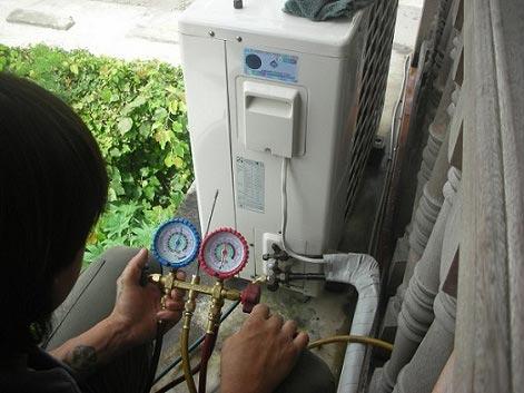 Cách sửa lỗi máy điều hòa áp suất hút thấp
