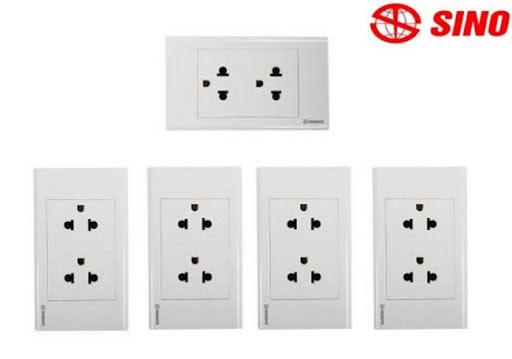 Ổ cắm điện hãng Sino