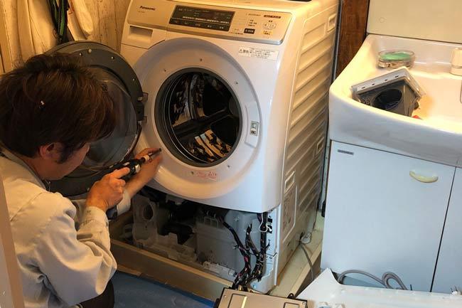 Quy trình sửa máy giặt chuyên nghiệp tại Vinh