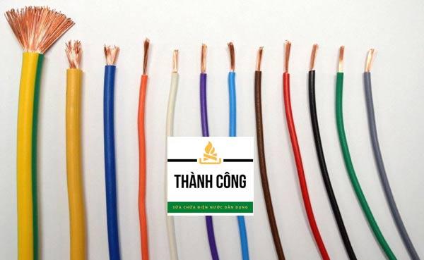 Các loại dây chính trong nguồn điện gia đình