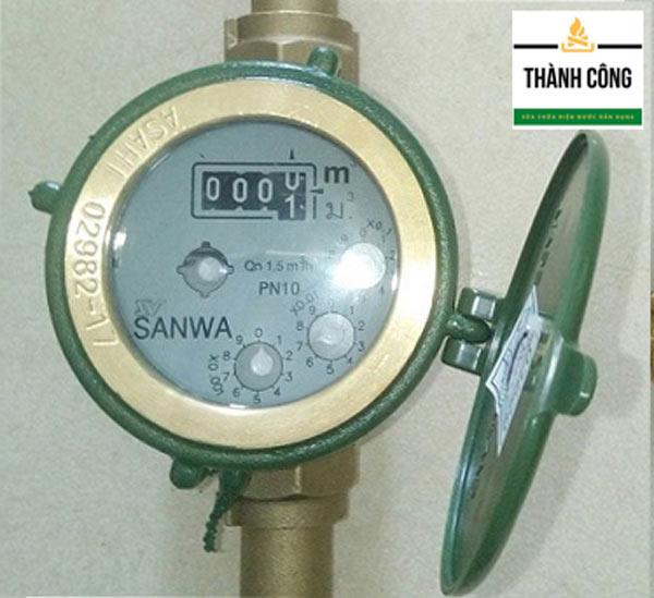 Đồng hồ đo nước 4 số