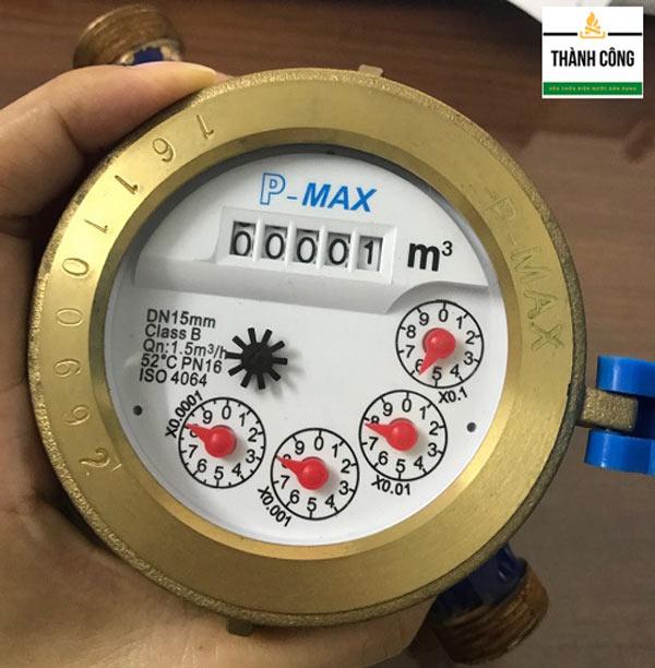 Đồng hồ đo nước 5 số