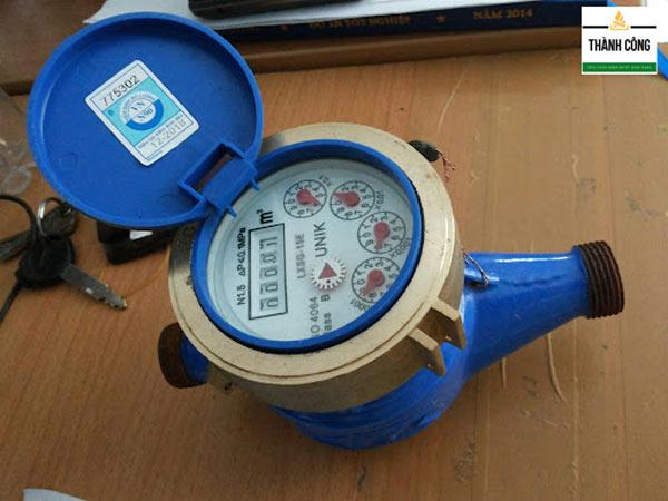 Cấu tạo và nguyên lý hoạt động của đồng hồ đo nước
