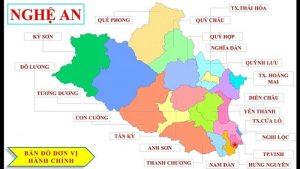 Nghệ An có bao nhiêu huyện, tên các huyện?